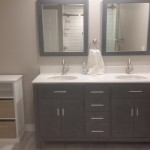 Photo / Ottawa Construction / Restoration / Bathroom Renovation / Vanity Installation