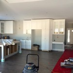 Photo / Ottawa Construction / Custom Home / Kitchen Cabinets / Hardwood Floor / Island Construction
