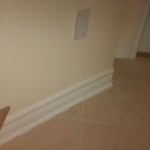 Mount Shannon Baseboard and Shoemould trim work