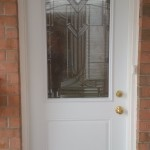 Photo / Mount Shannon / Front Door Installation