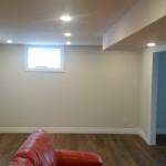 Image / Broadview Project / Basement Renovation / Pot Lights / LED Lighting / Living Room